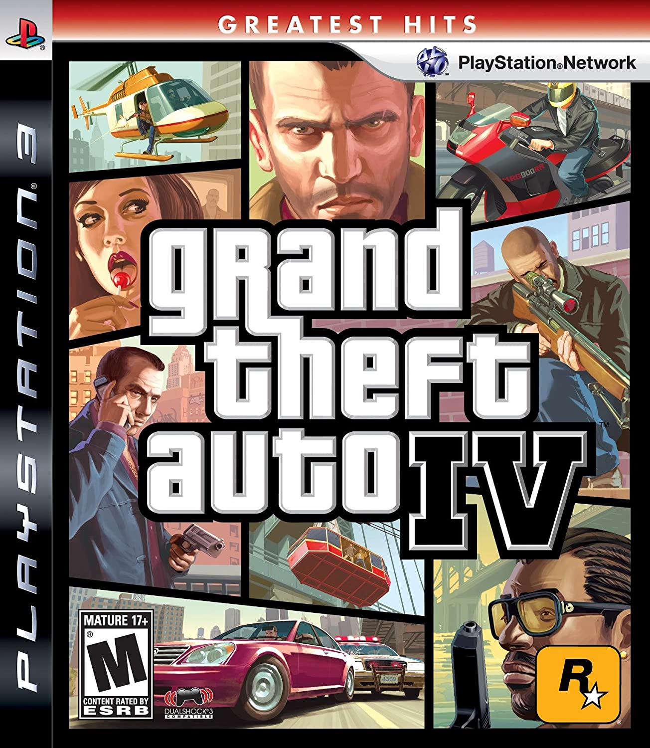 Amazon Com Grand Theft Auto Iv Playstation  Artist Not Provided Video Games