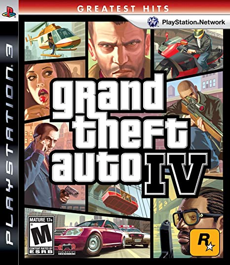Grand Theft Auto IV - PlayStation 3: Amazon com br: Games
