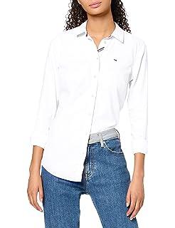 Tommy Hilfiger Camisa para Mujer: Amazon.es: Ropa y accesorios