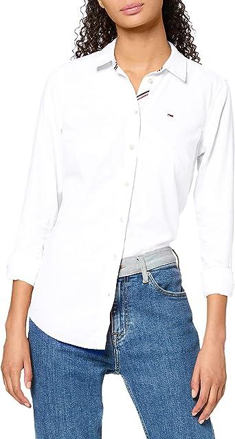 Tommy Hilfiger Tjw Slim Fit Oxford Shirt Camisa para Mujer: Amazon.es: Ropa y accesorios