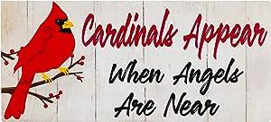 Evergreen Flag Cardinals Appear
