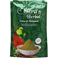 Chitra's Herbal Natural Mehendi Powder- 150 Gram Each, Pack of 2