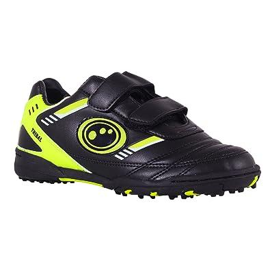 dd85e338d223 Optimum Tribal, Boys' Football Training Shoes, Black (Black/Flurocent),