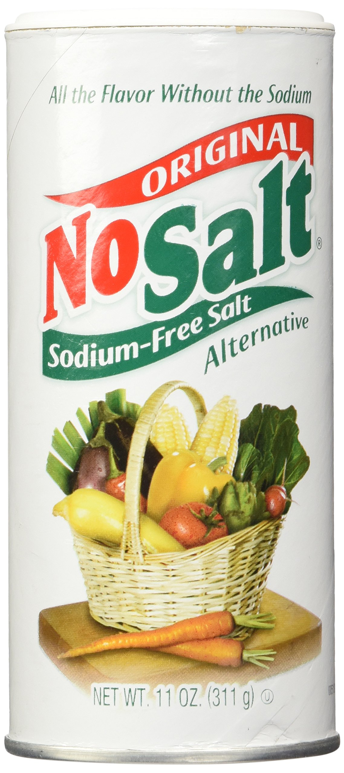 NoSalt Original Sodium-Free Salt Alternative 11 Ounce (Pack of 2)