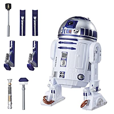 Star Wars The Black Series 40th Anniversary Artoo-Detoo (R2-D2) 6 Inch Figure: Toys & Games