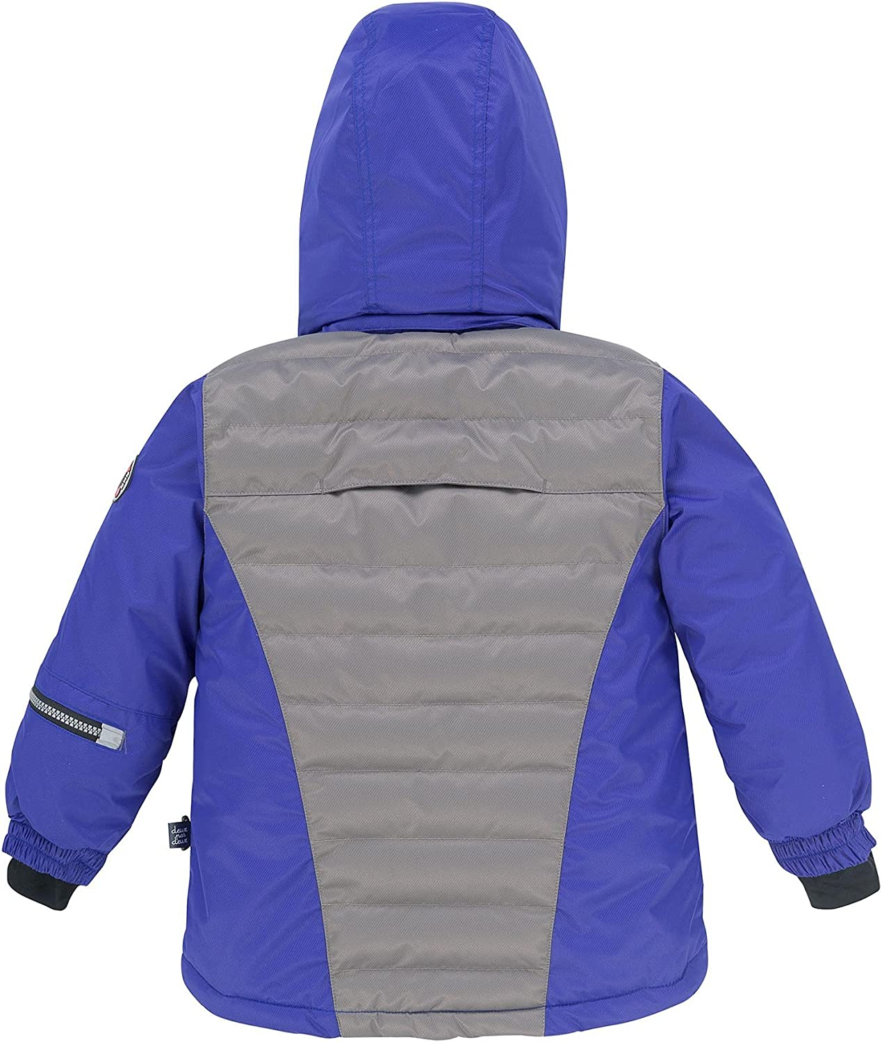 Deux par Deux Boys 2-Piece Snowsuit Off The Mark Blue Sizes 5-14