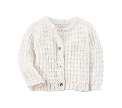 923697de9 Amazon.com  Carter s Baby Girls  Crochet Cardigan 3 Months  Clothing