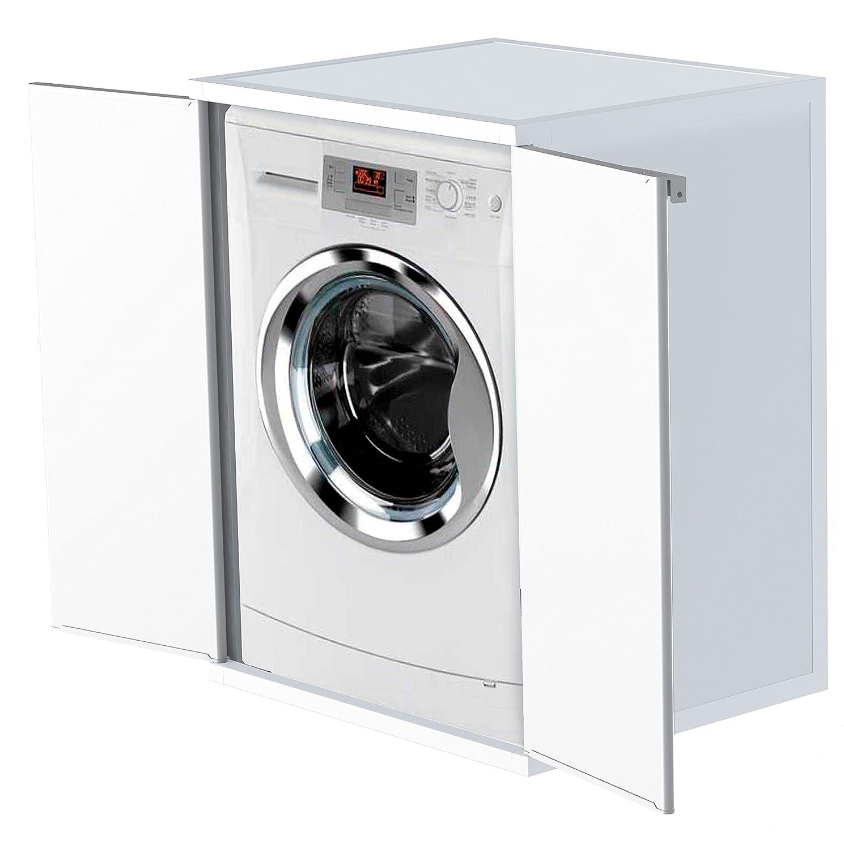 Überbauschrank für Waschmaschine und Trockner. Aus robustem ...