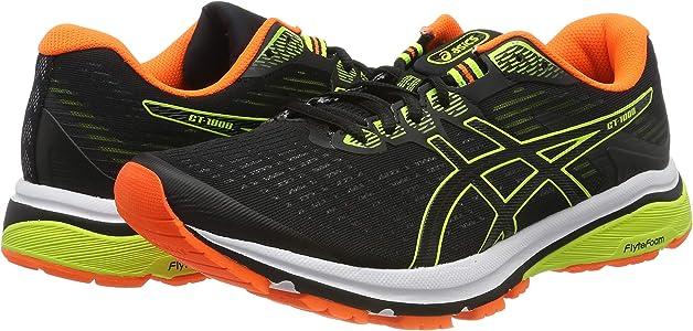 Asics Gt-1000 8, Zapatillas de Running para Hombre, Negro (Black/Safety Yellow 003), 40.5 EU: Amazon.es: Zapatos y complementos