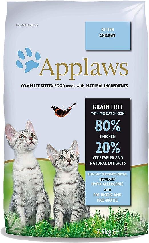 Applaws Katze Trockenfutter Kitten 1er Pack 1 X 7 5 Kg Amazon De Haustier