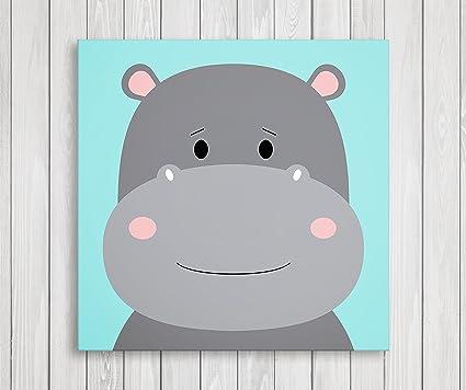 Amazon.com: Cute Little Animals Nursery Wall Decor, Baby Room Canvas ...
