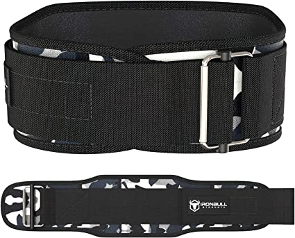 6 Inch Weight Lifting Core /& Lower Back Support Workout Waist Belt for Weightlifting Crossfit Powerlifitng Fitness Iron Body Team Weight Lifting Belts for Men and Women