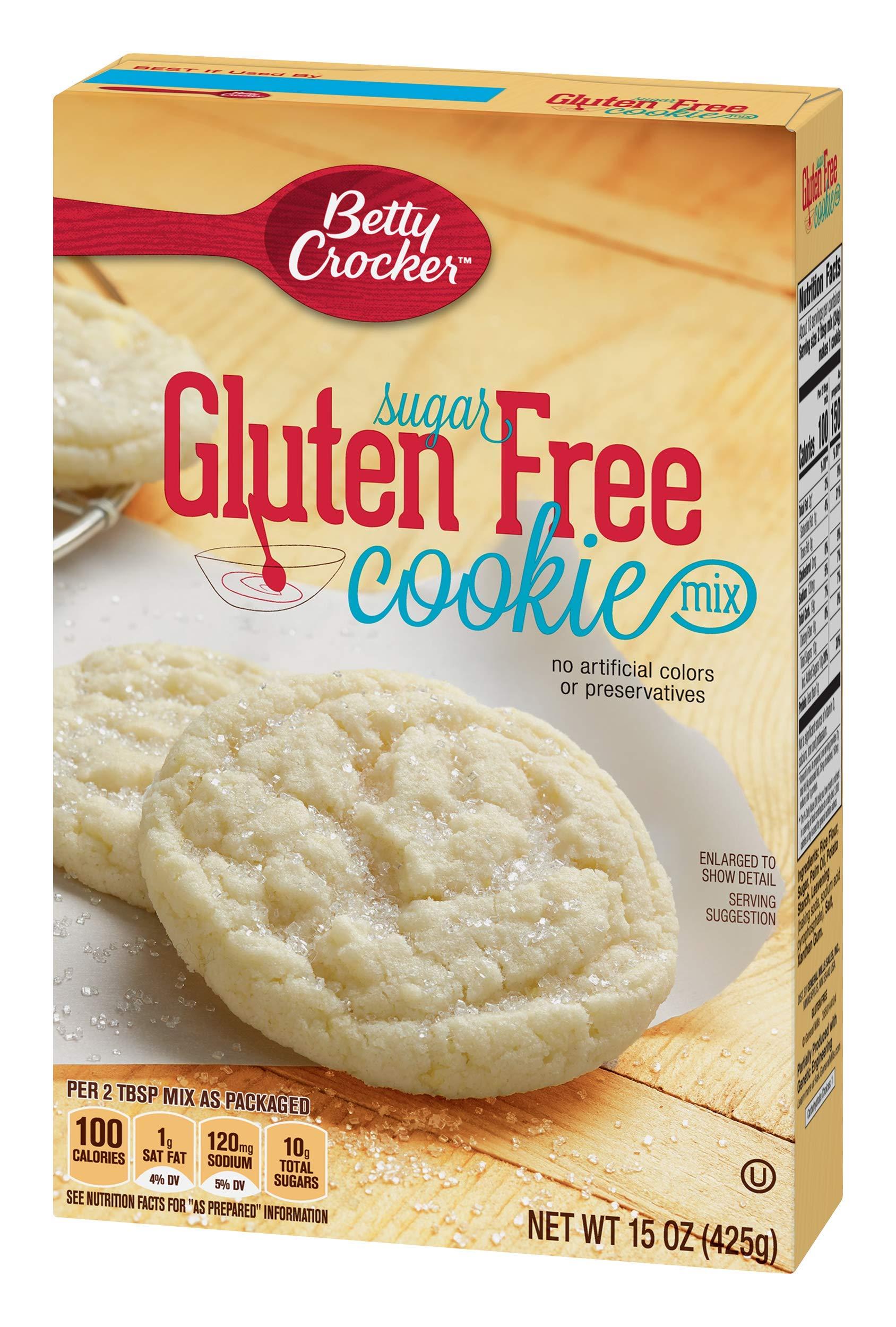 Betty Crocker Gluten Free Cookie Mix Sugar 15.0 oz Box by Betty Crocker