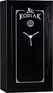 Kodiak KB5529ECS Gun Safe by Rhino Metals, 30 Long Guns &10 Handguns, 385lbs, 30 Minute Fire Protection, Electronic Lock and Bonus Deluxe Door Organizer