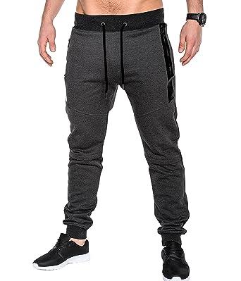 b24b93f6c7c2 BetterStylz SlvrCatBZ Men s Tech Fleece Jogger Track Pants Jogging Regular  Fit Fitness Tapered Fit 5 Colors
