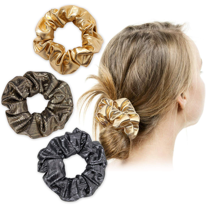 hair ties- handmade hair accessories-ponytail Peppa Pig on the moon scrunchie-crescent moon scrunchies
