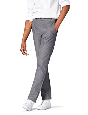 FIND Herren Schmale Pindot-Anzughose aus Baumwolle  Amazon.de  Bekleidung 5bac71d748