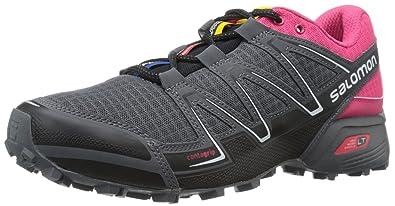 Salomon Speedcross Pro 2 Schwarz-Pink, Damen Trailrunning- & Laufschuh, Größe EU 41 1/3 - Farbe Black-Virtual Pink-Black Damen Trailrunning- & Laufschuh, Black - Virtual Pink - Black, Größe 41 1/3 - S