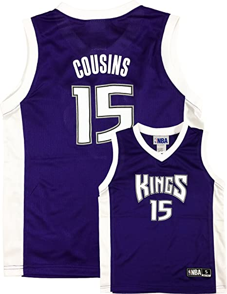 8e0a9cb8 DeMarcus Cousins Sacramento Kings Purple Youth Player Jersey (Small 6/7)