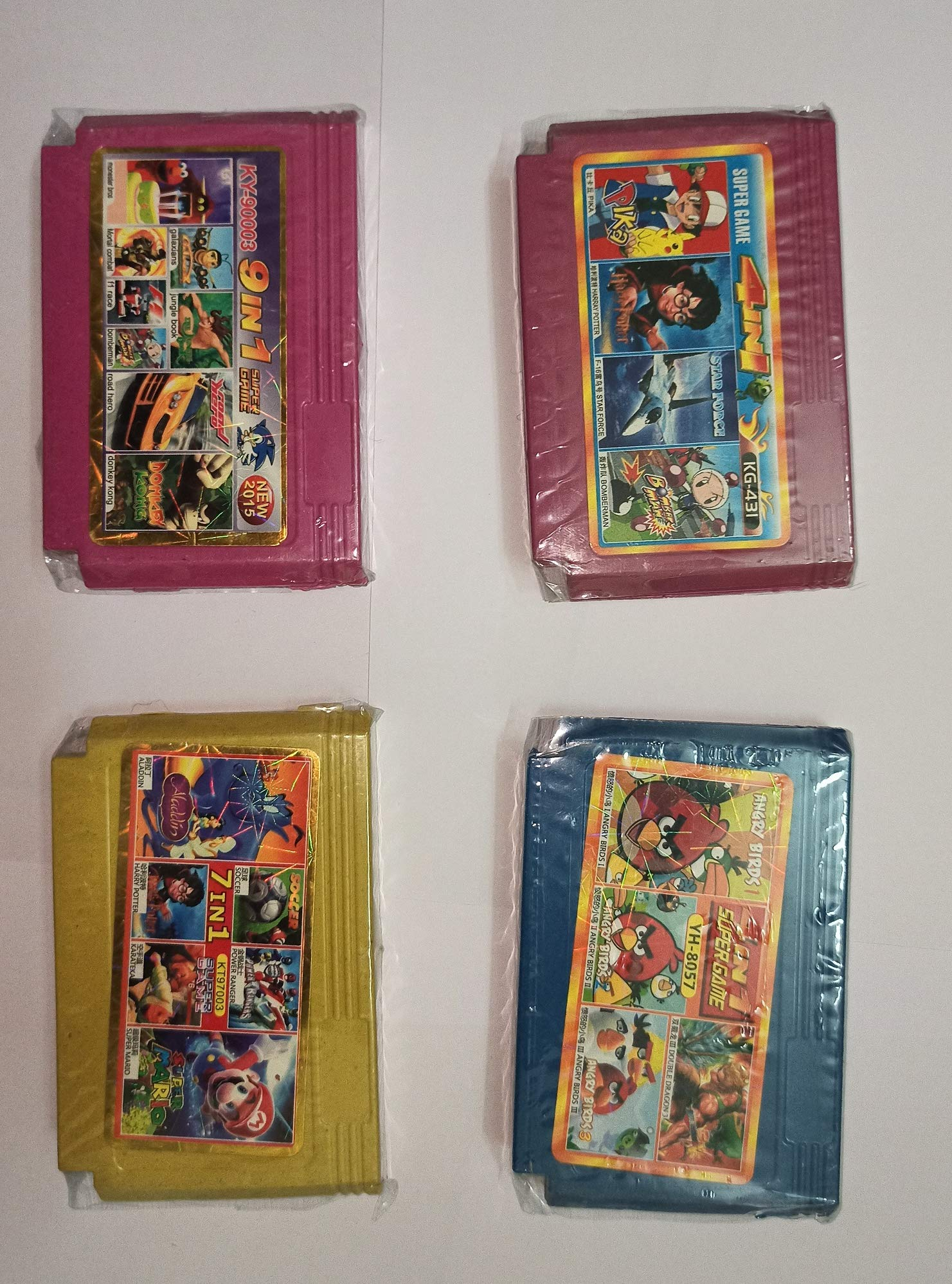 Crispy Deals Kid's 8 Bit Video Game Cassette (Multicolour)- Buy Online in  India at desertcart.in. ProductId : 72392530.