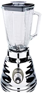 Oster 4655 blender, Retro Chrome 3 speed, 5 cup glass jar.
