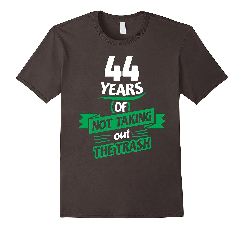 44th Wedding Anniversary Gift for Him – 44 Years T-Shirt