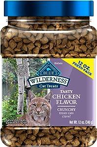 Blue Buffalo Wilderness Grain Free Crunchy Cat Treats