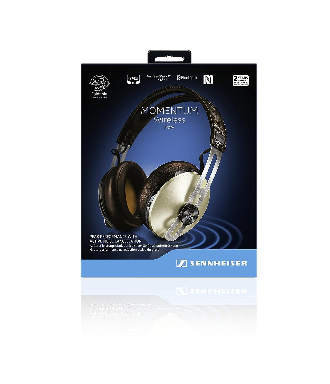Momentum Wireless Sennheiser 2g Ivory 16 22000 Hz Passive28 Active480 113db 14mlusb