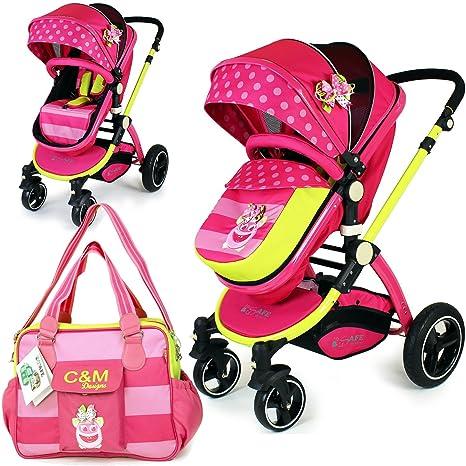 iSafe 2 en 1 - Mea Lux cochecito de bebé y carrito (carrito ...