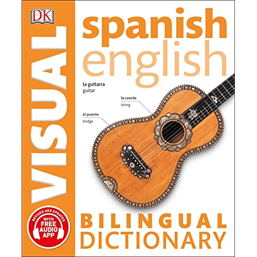 Spanish English Bilingual Visual Dictionary (DK Visual Dictionaries)