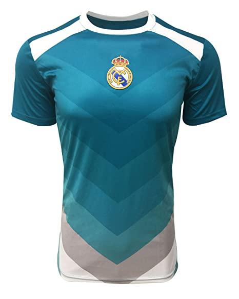 Amazon.com: Real Madrid - Camiseta de entrenamiento oficial ...