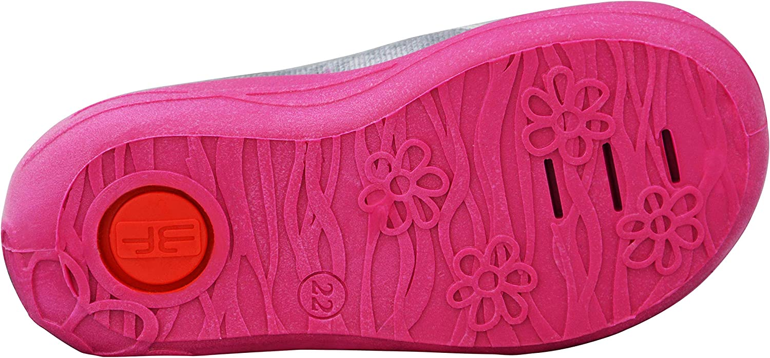1-3 Years Little Girls Newborn Firts Walking Shoes with Touch Fastener and Leather Insole with Active Carbon 3f freedom for feet 2.5-7.5 U Pink Mice Kids Baby Girls Shoes Dots Hearts Blue