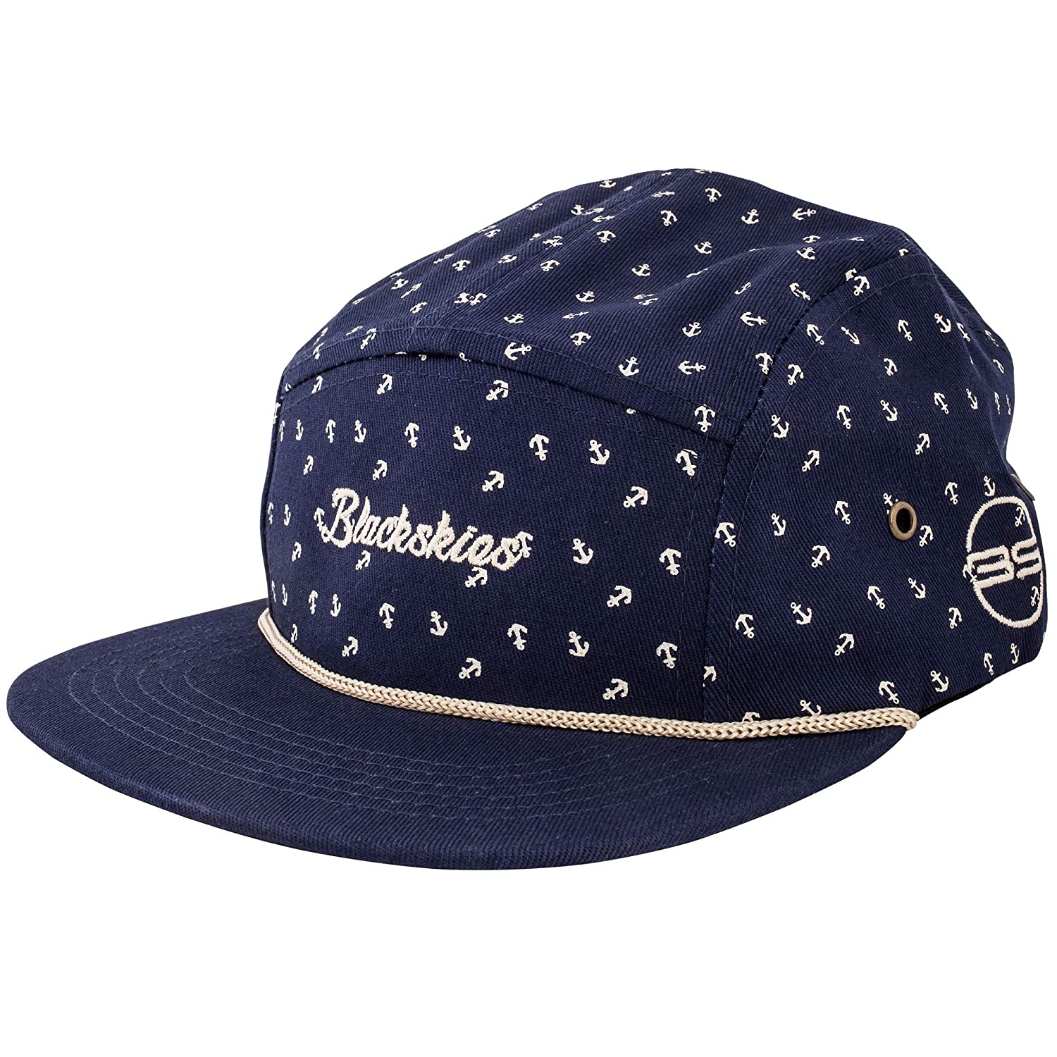 Blackskies Crimson 5-Panel Cap Camp Women Men Baseball Cap Cap Surfers Skaters Snapback Strapback Kord at Amazon Mens Clothing store: