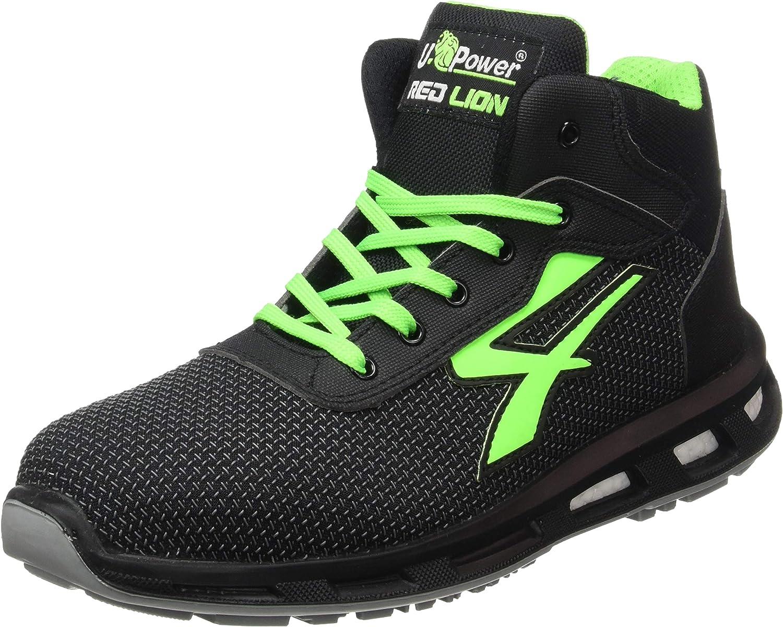 Hard U-POWER Zapatos DE Seguridad DE Trabajo S3 SRC REDLION