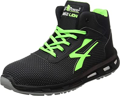 NEW MENS U POWER SAFETY LIGHTWEIGHT WORK STEEL TOE CAP TRAINERS SHOES UK SIZES..
