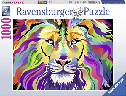 Ravensburger -King of Technicolor - 1000 pc Puzzle