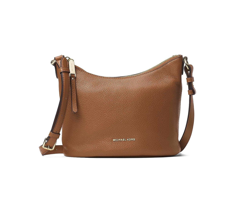 8fa4810875b2 MICHAEL by Michael Kors Lupita Tan Medium Messenger Bag one size Tan   Amazon.co.uk  Shoes   Bags