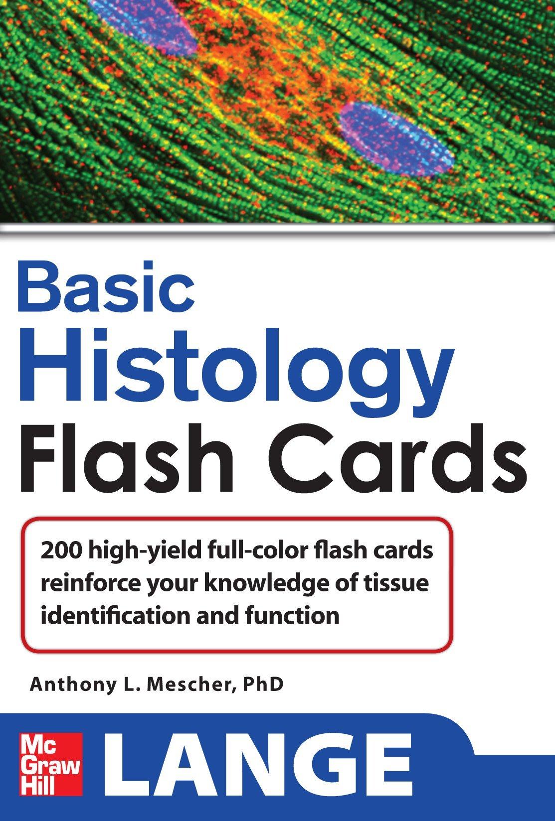 Basic Histology  Lange Flashcards