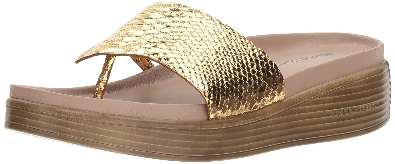 Donald J Pliner Women's Fifi19 Slide Sandal B0756GG8KQ 9.5 N US|Gold