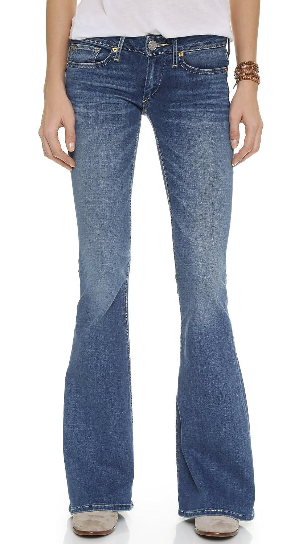 True Religion Women's Karlie Bell Bottom Jeans