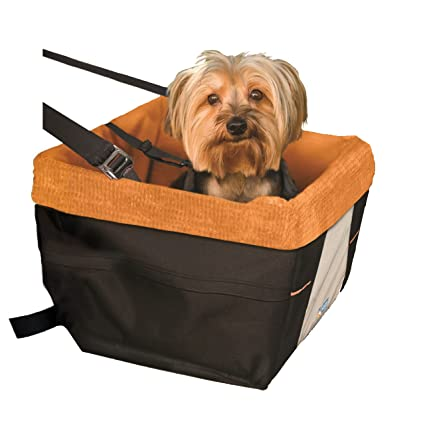 Kurgo Skybox Dog Booster Seat For Cars And Car With Belt Tether