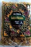 Trader Joe's California Golden Raisins, Plump & Tangy /16 Oz., 454g.
