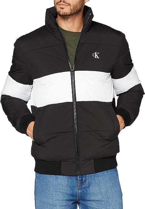 Calvin Klein Outline Logo Jacket Giacca Uomo Amazon It Abbigliamento