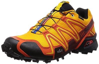 33798559f0c7 Salomon Men s Speedcross 3 GTX Running Shoes Orange Orange (Yellow  Gold Tomato Red