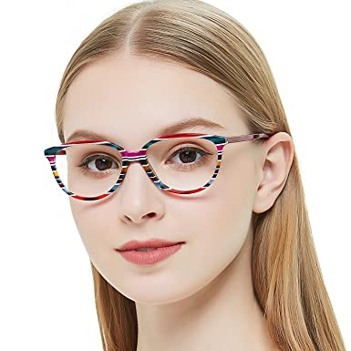 8b9cc4a4ca9d OCCI CHIARI Rectangle Metal Decoration Eyeglasses Frame With Spring Hinge  For Women (53-16
