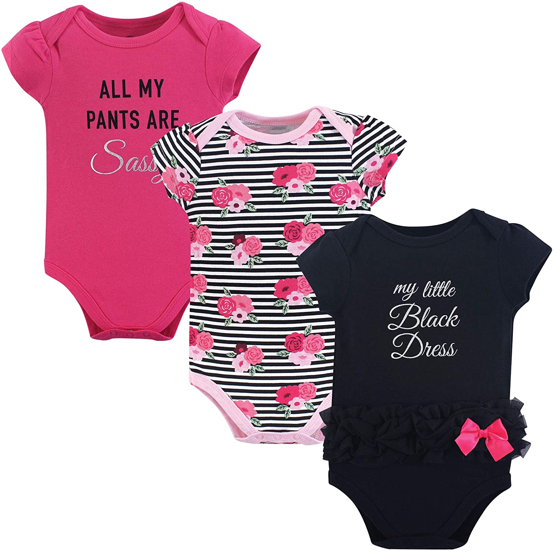 贅沢屋の Little Dress Treasure SHIRT ベビーボーイズ Little ユニセックスベビー Black B07HHB29K3 Little Black Dress 3pk Short Sleeve 12-18 Months (18M) 12-18 Months (18M)|Little Black Dress 3pk Short Sleeve, NAMELESS OUTLET:38688995 --- arianechie.dominiotemporario.com