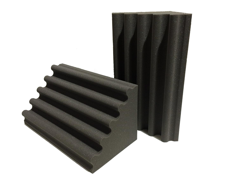 Advanced Acoustics trampa de graves Wave 2 ft acústica Studio espuma - Pack de 2: Amazon.es: Instrumentos musicales