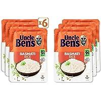 UNCLE BEN'S Plain Basmati Rice, 6 x 250g