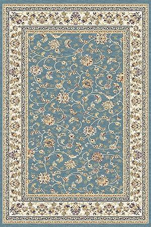 Tapis Oriental Classique 200x300 Cm Laine Turquoise Multicolore