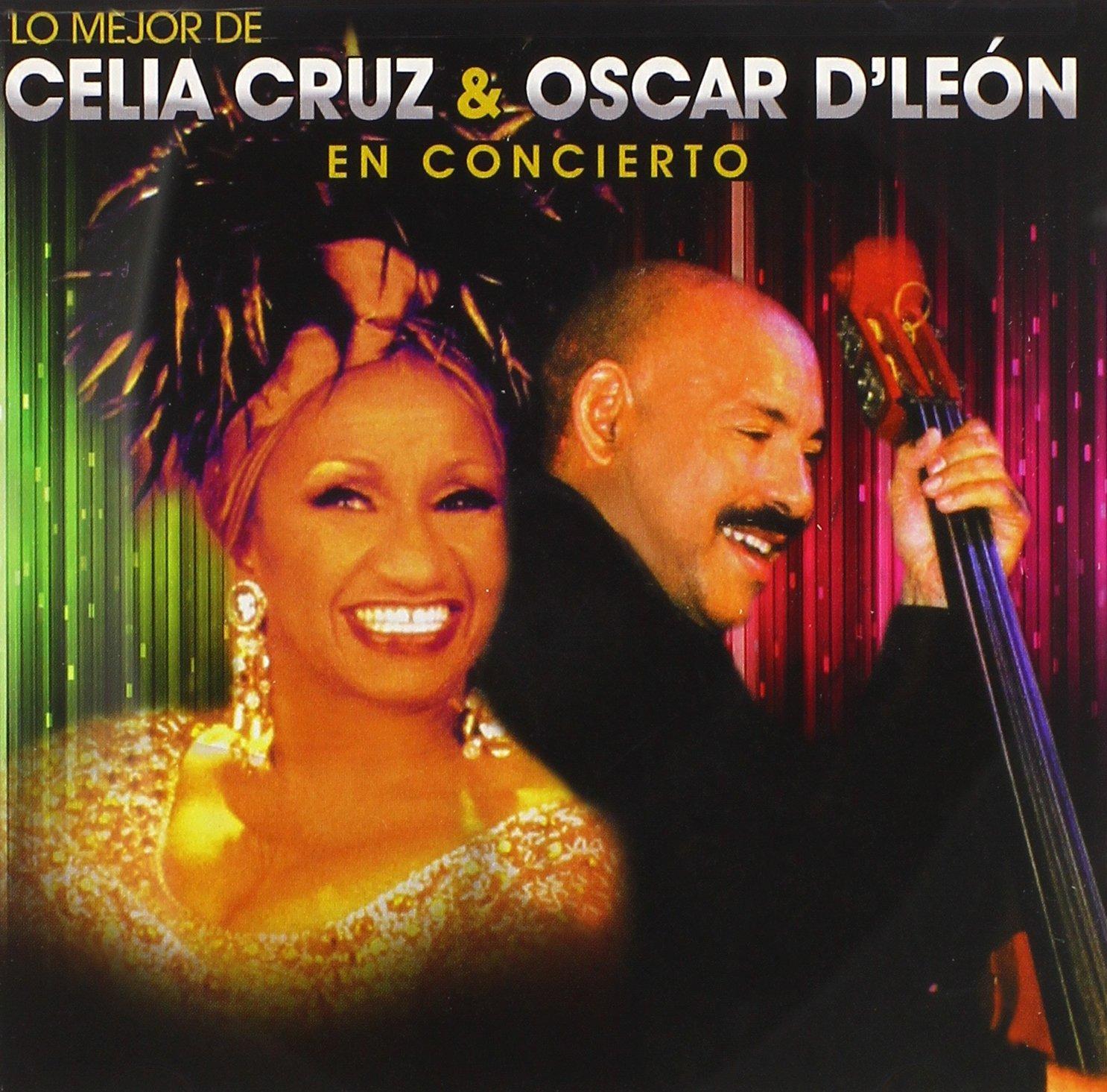 New item Lo Mejor De Celia Cruz Concierto Albuquerque Mall Oscar D'Le¢n En